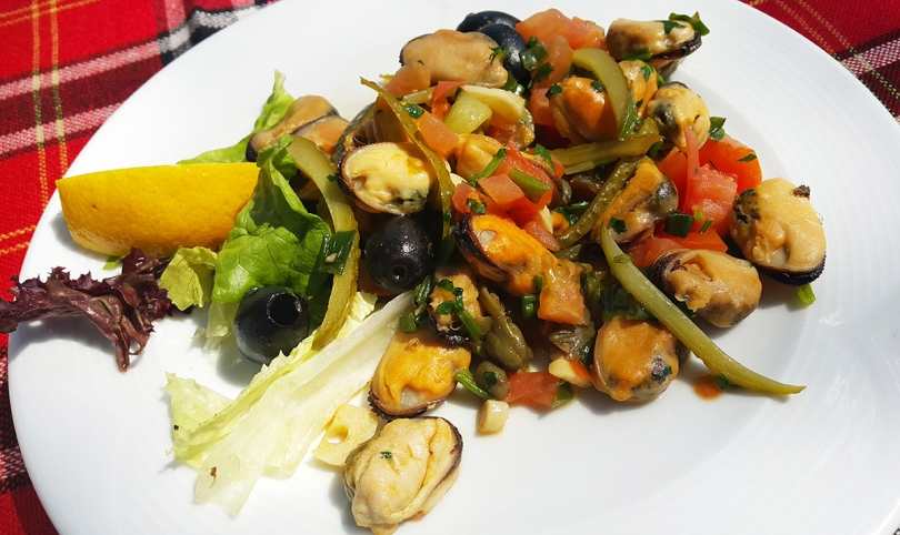 Mussels in Burgas way